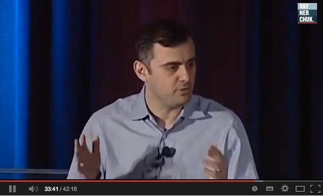 'Marketing in the year that we actually live in,' Gary Vaynerchuck